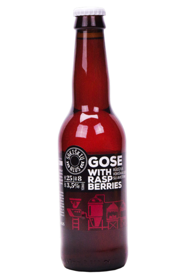 Sakiškių alus Gose with Raspberries - product image