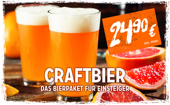 Website Banner Bierpaket Craftbier 0618