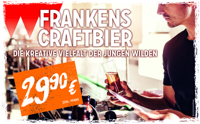 Sliderimage: Website Banner Bierpaket Frankens Craftbier 0618