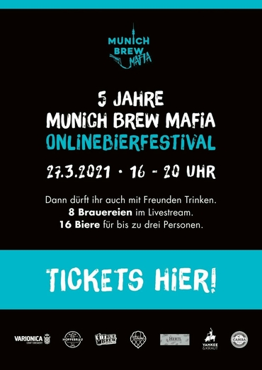 Online beer festival 5 years Munich Brew Mafia - product image
