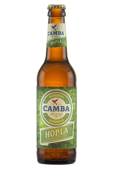 Camba Hopla Dry Hop Lager - product image